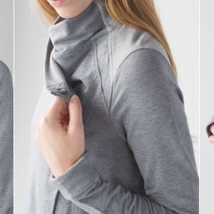 RARE lululemon Cross Neck Sweater